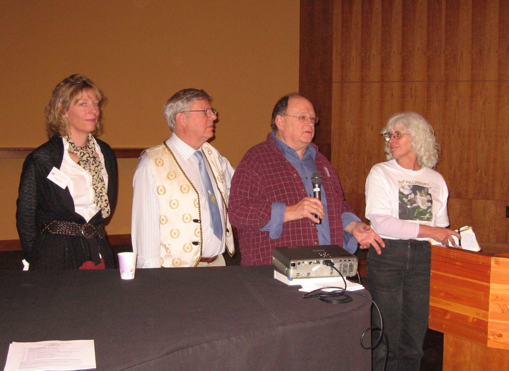 2007 SNEBA Conference with Dr's Larry Conner, Dewey Caron and Jen Berry